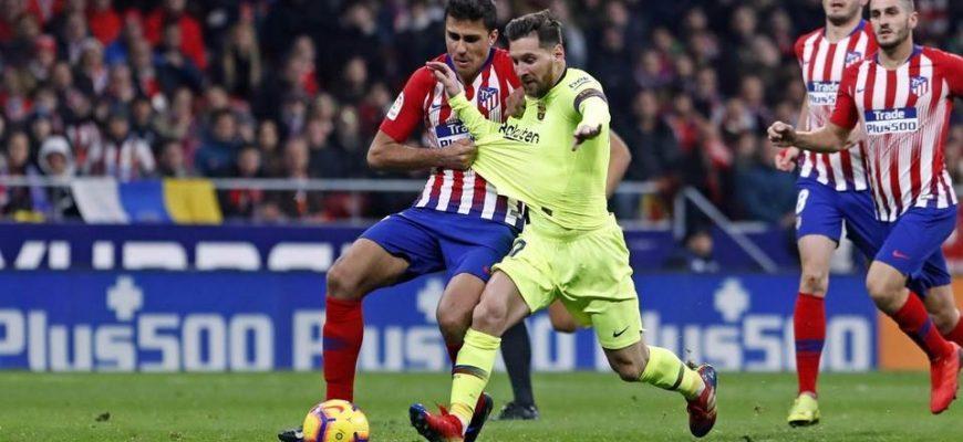 Атлетико - Барселона. Прогноз на матч 01.12.2019
