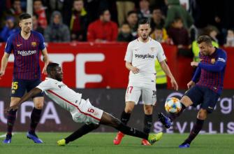 Барселона - Севилья. Прогноз на матч 06.10.2019
