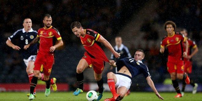 Шотландия - Бельгия. Прогноз на матч 09.09.2019