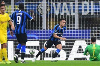 Боруссия Дортмунд - Интер. Прогноз на матч 05.11.2019