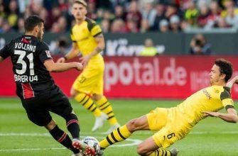 Боруссия Дортмунд - Байер. Прогноз на матч 14.09.2019