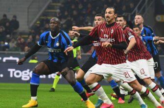 Милан – Интер. Прогноз на матч 21.02.2021