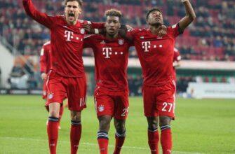 Аугсбург – Бавария. Прогноз на матч 21.01.2021