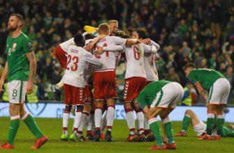 Ирландия - Дания. Прогноз на матч 18.11.2019
