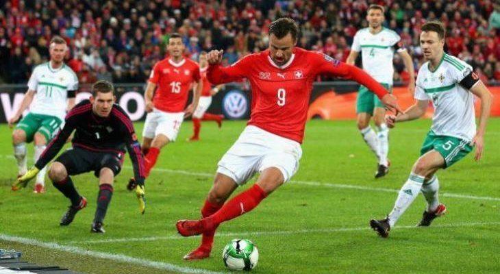 Ирландия - Швейцария. прогноз на матч 05.09.2019