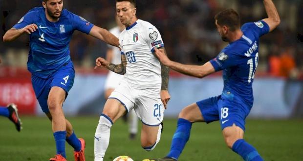 Италия - Греция. Прогноз на матч 12.10.2019