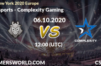 G2 Esports – CompLexity Gaming. Прогноз 06.10.2020