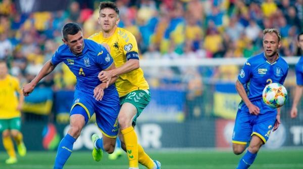 Украина - Литва. Прогноз на матч 11.10.2019