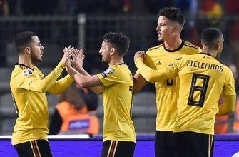 Кипр – Бельгия. Бесплатный прогноз на матч 24.03.2019