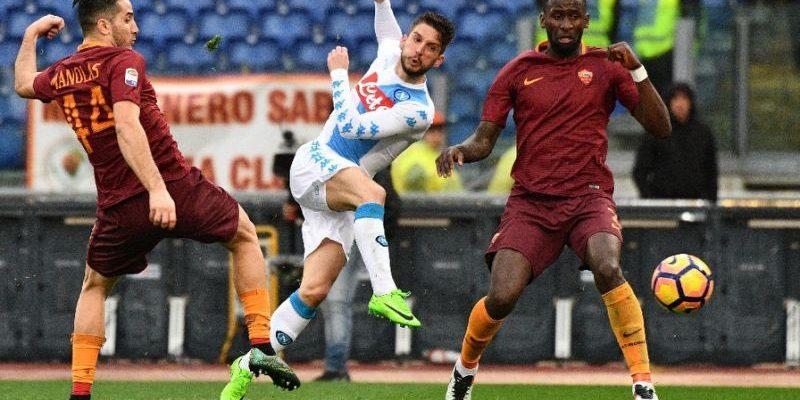 Рома - Наполи. Прогноз на матч 02.11.2019