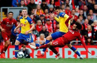Саутгемптон - Ливерпуль. Прогноз на матч 17.08.2019