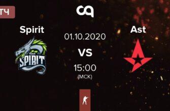 Team Spirit – Astralis. Прогноз на матч 01.10.2020