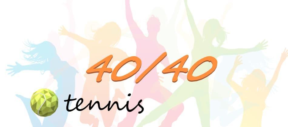 стратегия 40 40 в теннисе