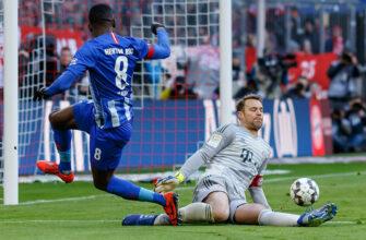 Герта - Бавария. Прогноз на матч 05.02.2021
