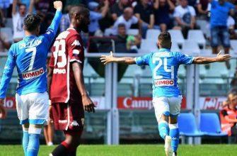 Торино - Наполи. Прогноз на матч 06.10.2019