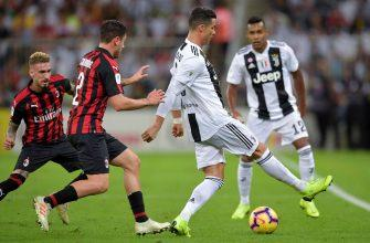 Ювентус - Милан. Прогноз на матч 10.11.2019